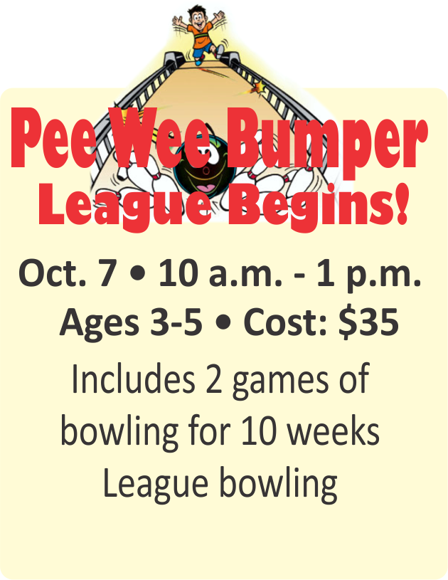 Pee Wee Bumper League Begins!