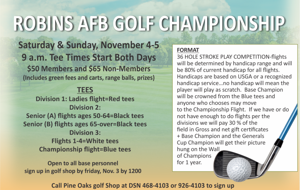 Robins AFB Golf Championship