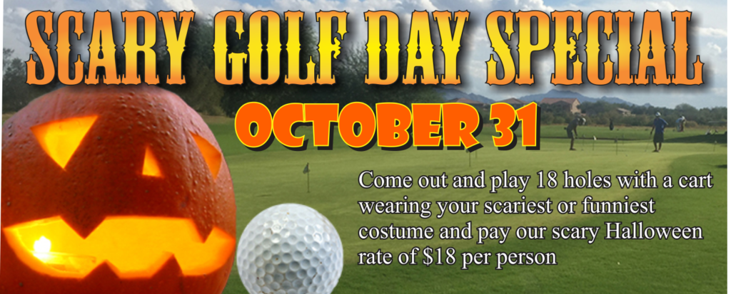 Scary Golf Day Special