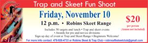 Trap and Skeet Fun Shoot Nov 10th