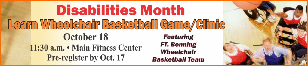 Disabilities Month, Learn Wheelchair Basketball Game & Clinic