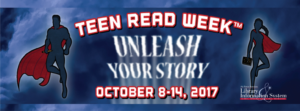 Teen Read Week at the Library