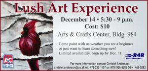 Lush Art Experience at Arts & Crafts