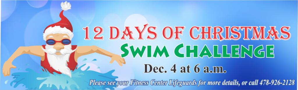 12 Days of Christmas Swim Challenge
