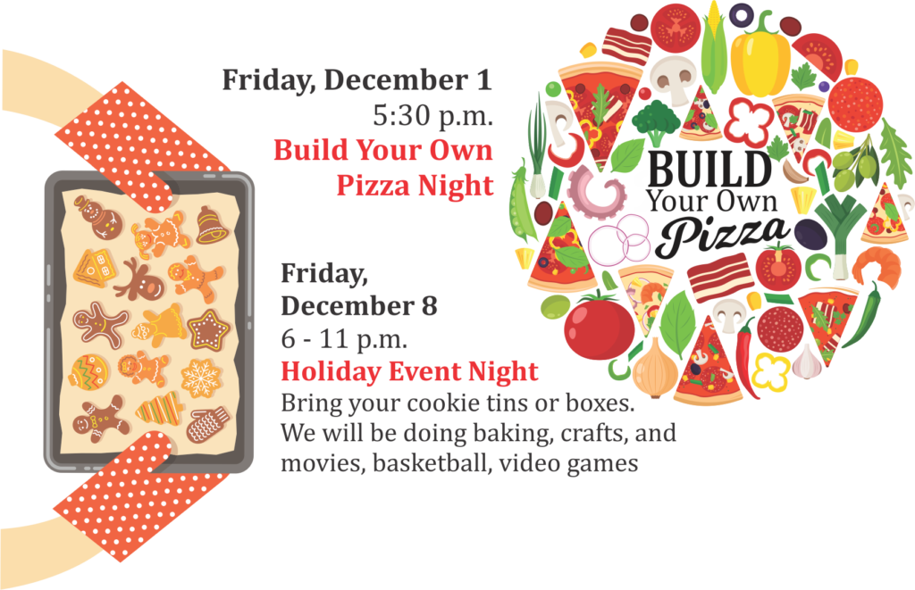 Youth Center December Events