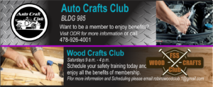 Join our Auto and Wood Crafts Club