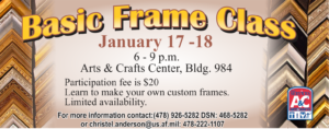 Basic Frame Class at Arts&Crafts
