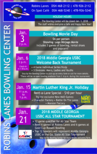 Bowling January Specials