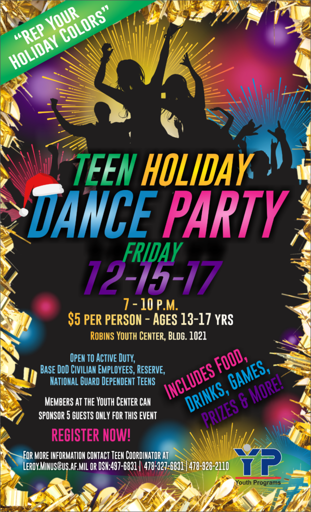 Teen Holiday Dance Party