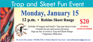 Trap and Skeet Fun Events Jan 15th