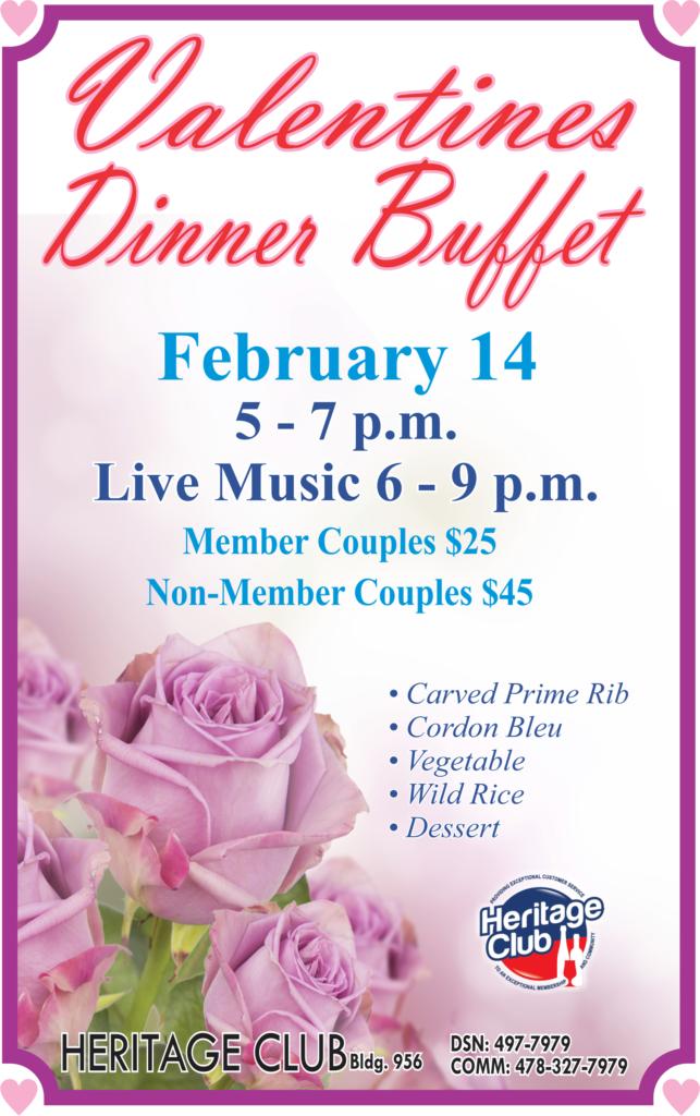 Valentines Dinner Buffet