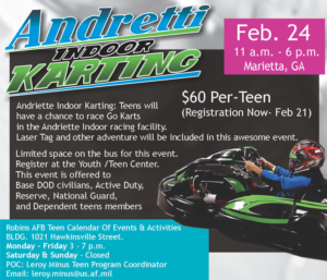 Andretti Indoor Kartting