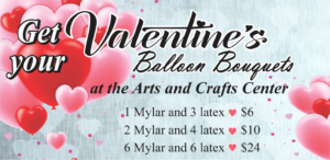 Arts & Crafts Get your Valentines Ballon Bouquets