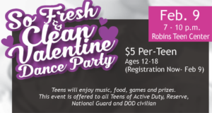 So Fresh & Clean Valentines Dance Party Feb. 9