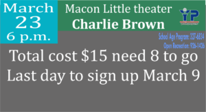 Macon Little Theater Charlie Brown
