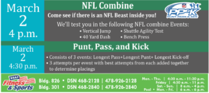 NFL Combine (Youth Center Event)